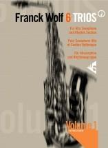 Wolf F. - 6 Trios Vol. 1 - 3 Alto Saxophone And Rhythm Section