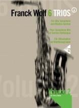 Wolf F. - 6 Trios Vol. 2 - 3 Alto Saxophones And Rhythm