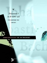 Bach J.s. - Triosonate I In Eb Bwv 525 - Saxophone-trio (sabar/sat)
