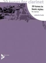 Hude V. - 20 Tunes In Basic Styles - Clarinette