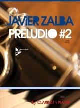 Zalba J. - Preludio #2 - Clarinet And Piano