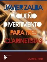 Zalba J. - Pequeño Divertimento Para Tres Clarinetistas - 3 Clarinettes