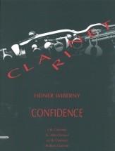 Wiberny H. - Confidence - 4 Clarinettes (2 Bb, Alto-clarinet Eb (ou Clarinette Bb), Clarinette Basse