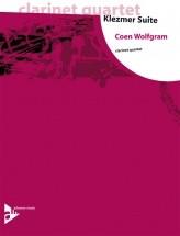 Wolfgram C. - Klezmer Suite - 4 Clarinettes (3 Bb Et 1 Clarinette Basse Bb)