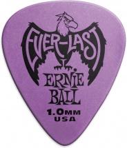 Ernie Ball Mediators Everlast Sachet De 12 Violet 1mm