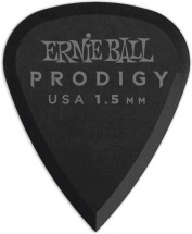 Ernie Ball Mediators Prodigy Sachet De 6 Noir 1,5mm