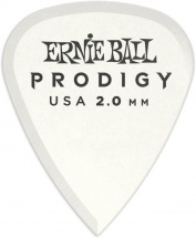 Ernie Ball Mediators Prodigy Sachet De 6 Blanc 2mm