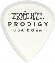 Ernie Ball Mediators Prodigy Sachet De 6 Blanc Mini 2mm