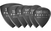 Ernie Ball Multipack Médiators Prodigy Sachet De 6 Noir 1,5mm