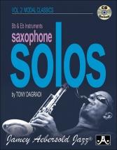Dagradi Tony - Saxophone Solos Vol.2 Modal Classics + Cd - Eb and Bb Instruments