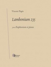Pages Vincent - Lambonium 235 - Tuba and Piano