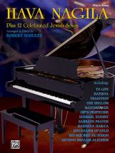 Hava Nagila Plus 12 Jewish Song - Piano