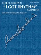 Gershwin George - I Got Rhythm Variations - Piano Solo