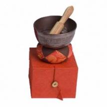 Afroton A-aks1500 - Set Cadeau Bol Tibetain Decore 11cm