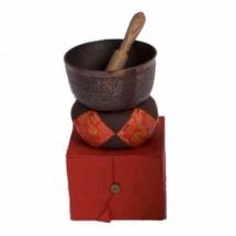 Afroton A-aks1502 - Set Cadeau Bol Tibetain Decore 15cm