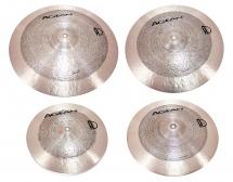 Agean Set 4 Cymbales Samet 14-16-18-20 - Bronze B20