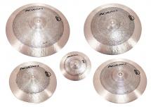 Agean Set 5 Cymbales Samet 10-14-16-18-20 - Bronze B20