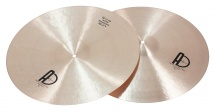 Agean Paire Cymbales Frappees 18 Heavy Super Symphonic - Bronze B25