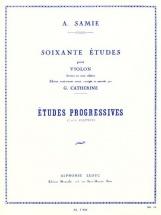 Samie - 60 Etudes Vol.2 : Etudes Progressives Op.32 - Violon