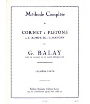 Balay - Methode Complete De Cornet A Pistons Vol.2