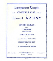 Nanny Edouard - Methode Complete Pour La Contrebasse A 4 Et 5 Cordes Vol.2