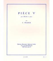 Franck Cesar - Piece V - Hautbois & Piano