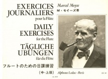 Moyse M. - Exercices Journaliers - Flute Traversiere