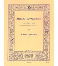 Jongen J. - Allegro Appassionato Op.73 - Alto & Piano