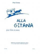 Dukas P. - Alla Gitana - Flute and Piano