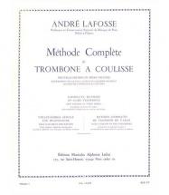Lafosse Andre - Methode Complete De Trombone A Coulisse Vol.1