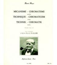 Moyse Marcel - Mecanisme-chromatisme - Flute