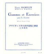 Hamelin Gaston - Gammes Et Exercices - Clarinette