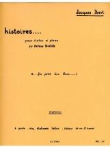 Ibert Jacques - Le Petit Ane Blanc - Violon Et Piano