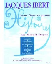Ibert J. - Histoires - Flute Et Piano