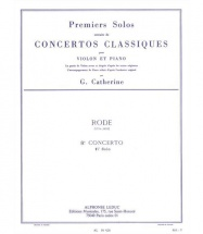 Rode Pierre - Solo N°1 Du Concerto N° 8 (catherine) - Violon and Piano