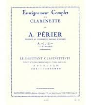 Perier A. - Le Debutant Clarinettiste