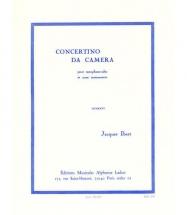 Ibert J. - Concertino Da Camera - Saxophone Alto Et Piano