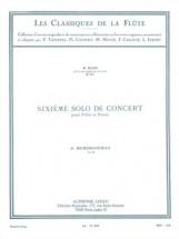 Demersseman J. - Sixieme Solo De Concert Op.82 - Flute