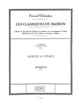 Antoniotto - Adagio Et Vivace - Basson and Piano