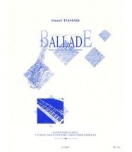 Tomasi Henri - Ballade - Saxophone, Piano