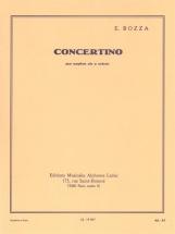 Bozza Eugene - Concertino - Saxophone Alto and Piano