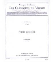 Couperin François - Petite Bourree - Violon, Piano