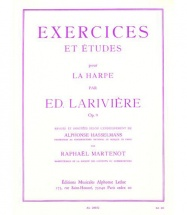 Lariviere - Exercices Et Etudes Op.9 - Harpe
