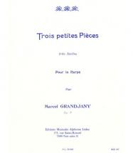 Grandjany - 3 Petites Pieces Tres Faciles Op.7 - Harpe
