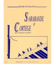 Dutilleux H. - Sarabande Et Cortege - Basson Et Piano