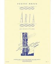 Bozza E. - Aria - Clarinette Sib Et Piano