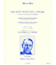 Mule Marcel - 18 Exercices Ou Etudes De Berbiguier - Saxophone