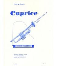 Bozza E. - Caprice - Trompette (ut Ou Sib) Et Piano