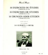 Moyse Marcel - 18 Exercices Ou Etudes De Berbiguier