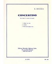 Sheet music: Concertino No 1